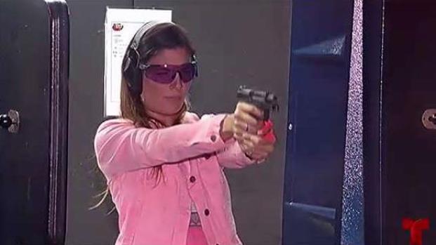 Aumentan solicitudes de mujeres para portar armas