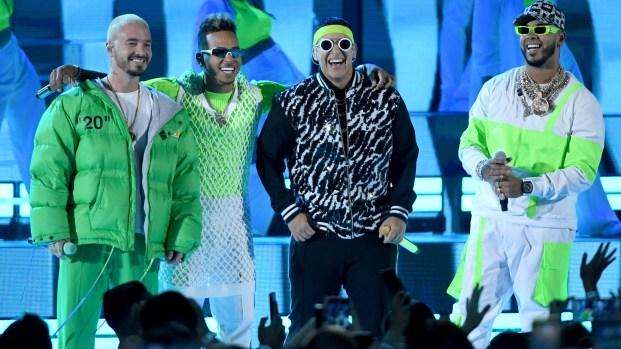 Reguetoneros protestan contra el Latin Grammy