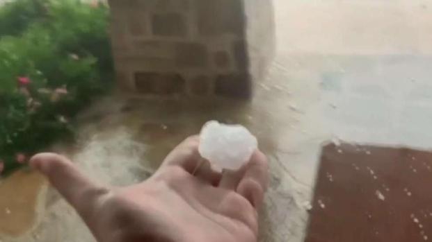 [TLMD - SA] Lluvia de granizos causa destrozos a su paso