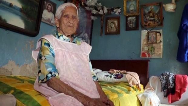 Su dieta, el secreto de una mexicana para llegar a los 116 años
