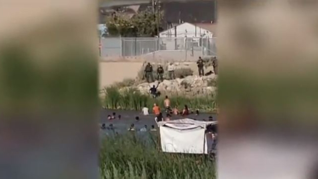 Patrulla Fronteriza dispara a bañistas en el Río Bravo