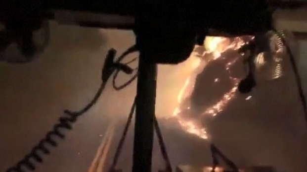 [TLMD - LV] Viaje a las entrañas de infernal incendio en California