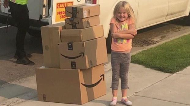 Niña compra en secreto $400 en juguetes por Amazon y esto hicieron sus padres