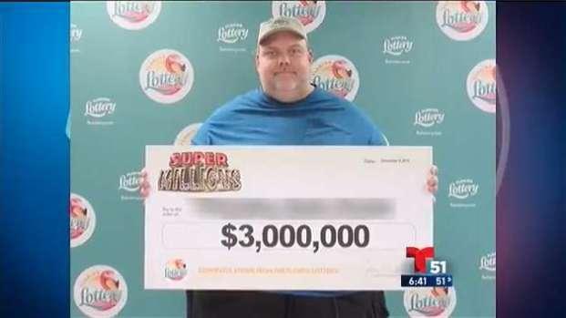 Depredador sexual gana $3 millones en lotería