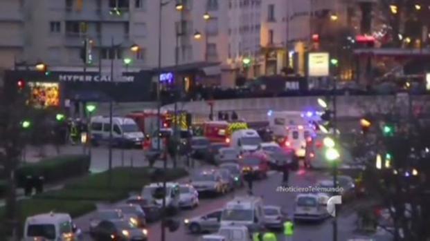 Se busca la supuesta cómplice de atentados en Francia