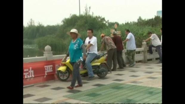 Cocodrilos escapan de restaurante chino