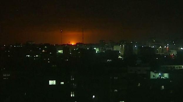 Israel lanza decenas de ataques en la Franja de Gaza