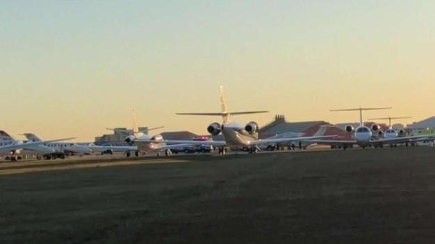 Avioneta choca contra otra en aeropuerto de San Antonio
