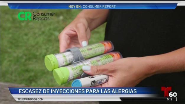Escasez de autoinyectores de alergias