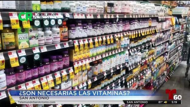 ¿Son necesarias las vitaminas?