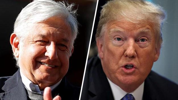 De qué hablaron López Obrador y Turmp