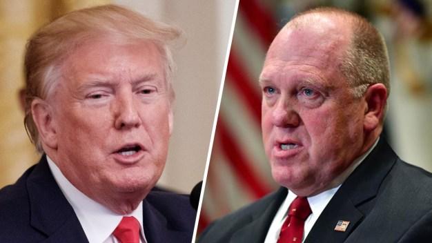 """Exjefe de ICE será nuevo """"zar de la frontera"""" de Trump"""