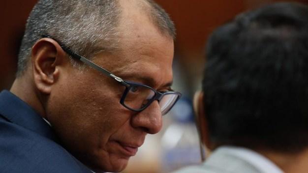 Ecuador: vicepresidente es condenado a 6 años de cárcel