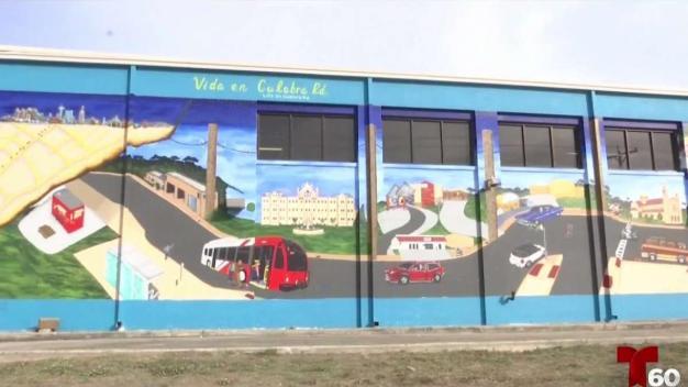 Mural en peligrosa vía busca crear conciencia