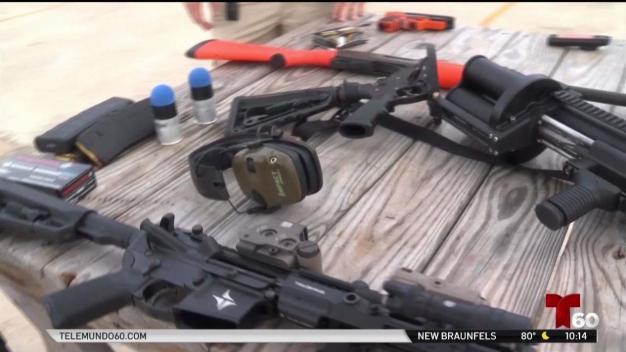 Policía del condado Guadalupe aumenta su armamento