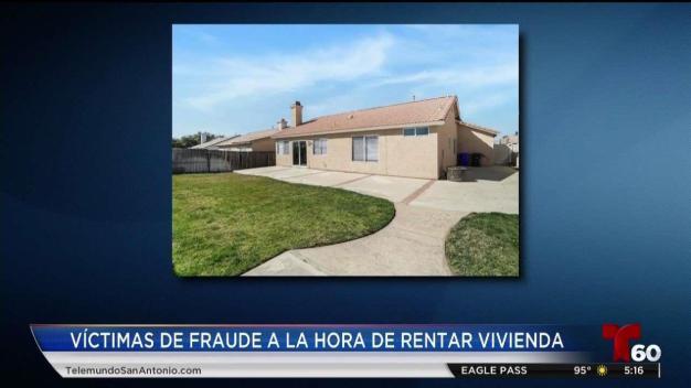 Fraude de renta  de casa