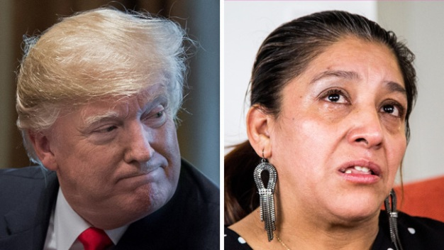 """Exempleada indocumentada de Trump: """"Está loco"""""""