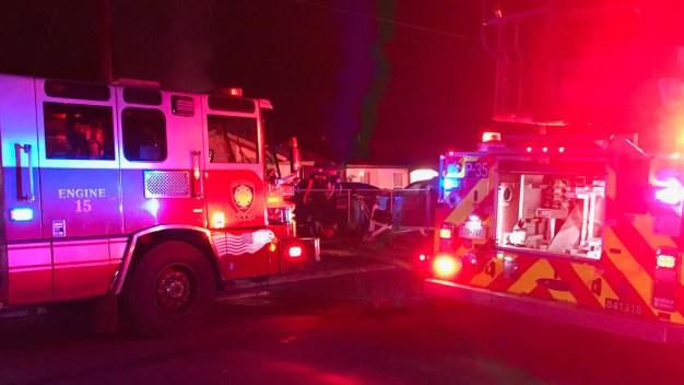 Anciano muere en descomunal incendio en su hogar