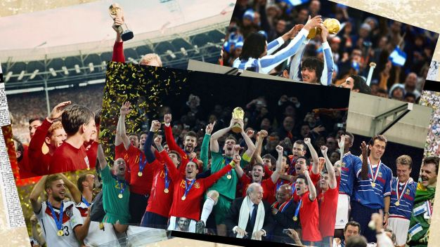La historia de la Copa del Mundo