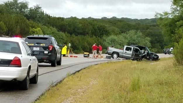 Dos muertos y dos heridos al chocar dos camionetas