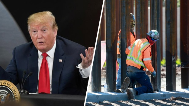 """Un fallo a favor del crimen"": Trump tras orden sobre muro"