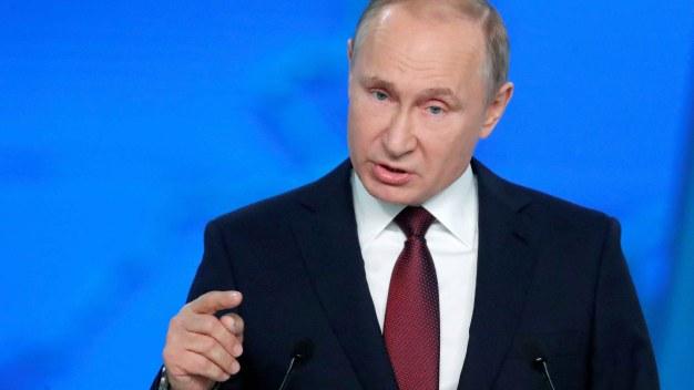 Putin amenaza con apuntar sus misiles hacia EEUU