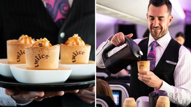 Video: sirven cafés en tazas que se pueden comer