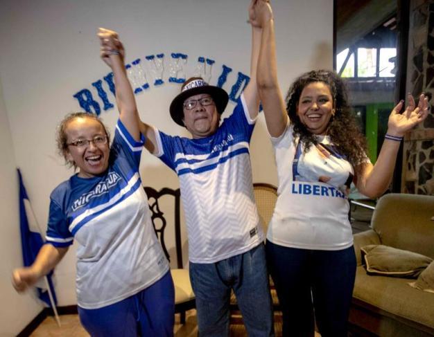 Nicaragua: liberan grupo de 50 presos políticos