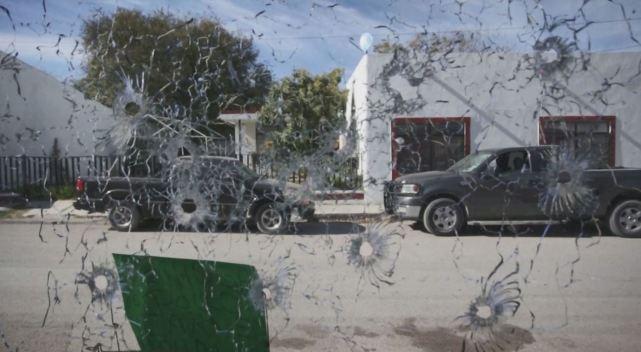 Así quedo el poblado mexicano atacado por el Cártel del Noroeste