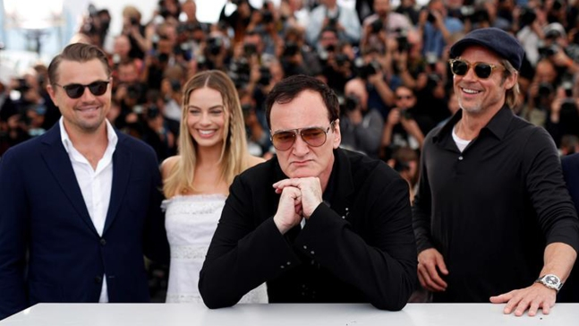 Tarantino vuelve a Cannes con DiCaprio y Brad Pitt