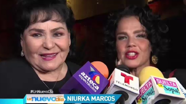 Niurka se disculpó de rodillas con Carmen