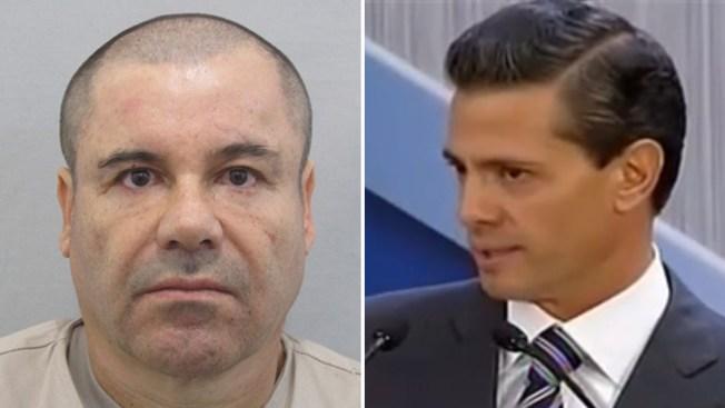 """Peña Nieto confía en recapturar a """"El Chapo"""""""