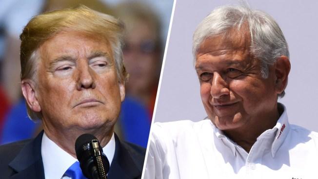 AMLO asegura que Trump quiere invertir en el Tren Maya de México
