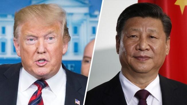 """Trump estaría """"contento"""" de imponer aranceles a China si no hay avances, según Mnuchin"""
