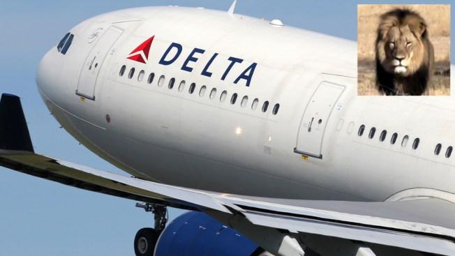 Delta prohíbe transportar trofeos de caza