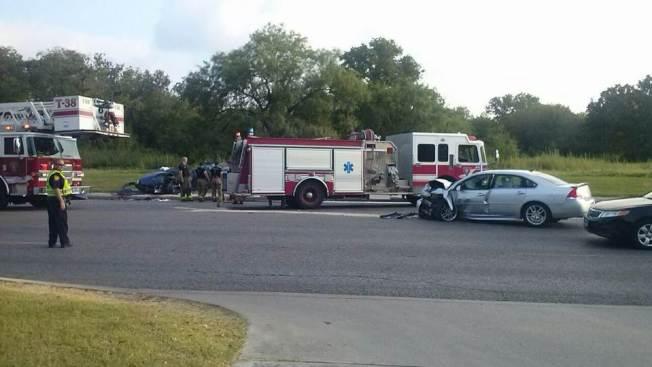 Aparatoso accidente de tránsito