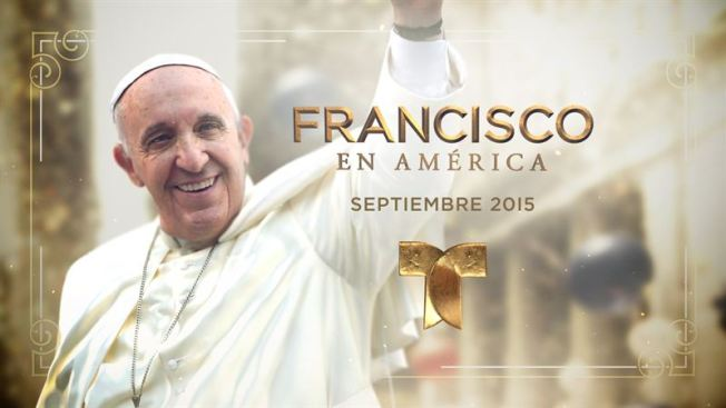 Telemundo cubrirá todo sobre la visita papal