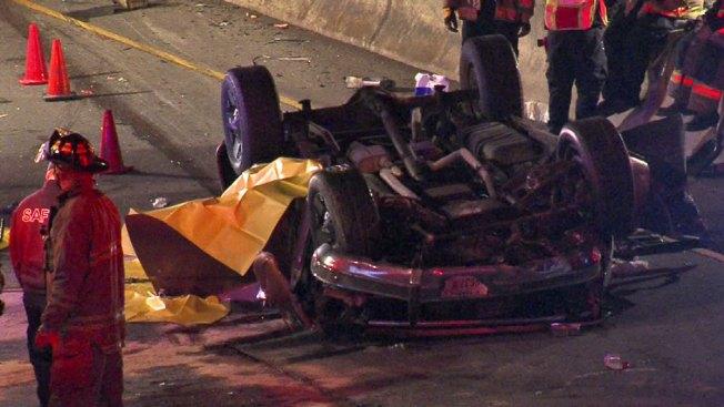 Muerte en las vías tras aparatosos accidentes