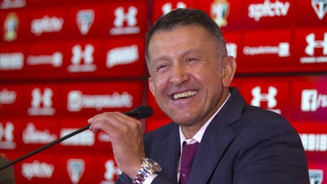 Juan Carlos Osorio llega a México
