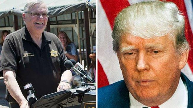 Arpaio quiere ir a México con Donald Trump