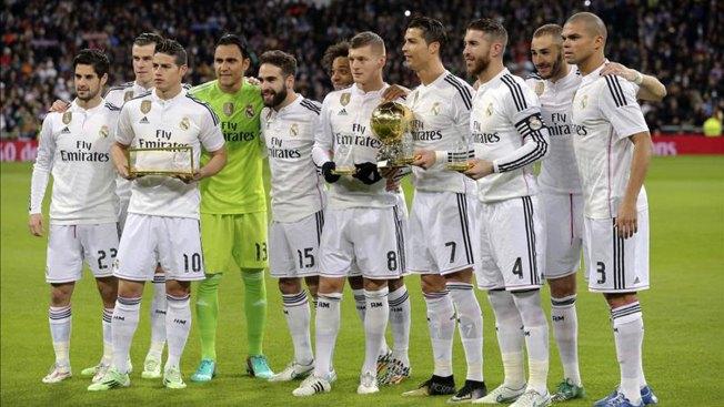 Real Madrid, el club mas valioso según Forbes