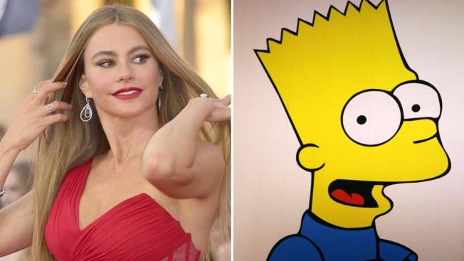 """Sofía Vergara se integra a """"The Simpsons"""""""