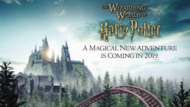 Universal Orlando muestra adelanto de nueva montaña rusa de Harry Potter