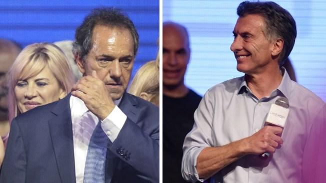 Argentina: reñida votación permite 2da vuelta