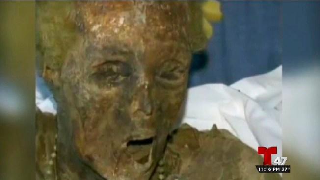 Dominicana momificada causa sensación