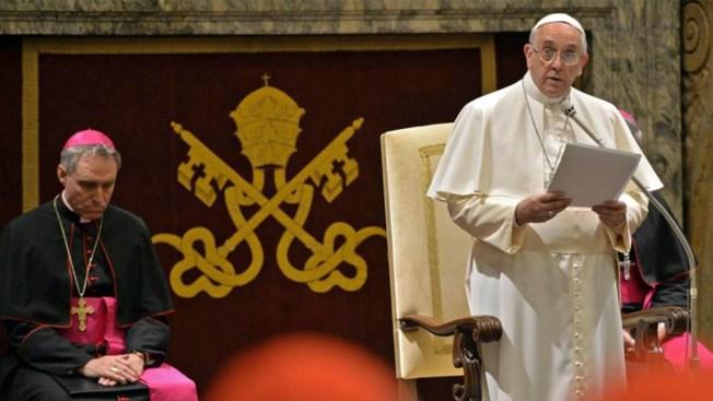 El Papa pide perdón por sus errores