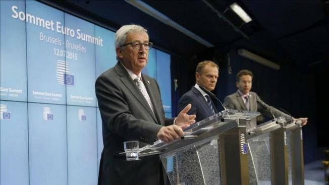 Acuerdo con Grecia para otro rescate financiero