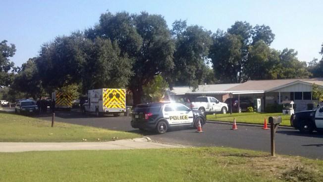 Policía rodea casa tras disparos