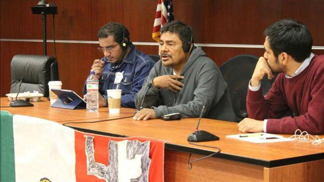 Muestran nuevo video de normalistas en Iguala