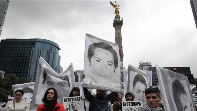 Ayotzinapa: gran marcha por primer aniversario